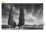 Cypress Trees- Tuscany Carry-all Pouch