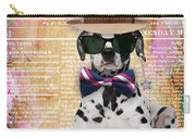 Dalmatian Bowtie Collection Carry-all Pouch