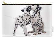 Dalmatian Puppies Carry-all Pouch