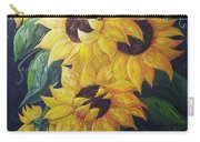 Dancing Sunflowers  Carry-all Pouch