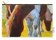 Dartmoor Ponies Painting Carry-all Pouch
