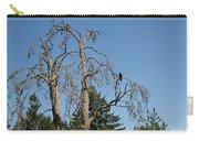 Dead Tree With Crow Carry-all Pouch