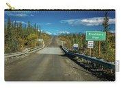 Denali Highway, Route 8, Bridge Crosses Carry-all Pouch