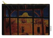 Desert Trail Homage 1936 Cabezon Peak Ghost Town Cabezon New Mexico 1971 Carry-all Pouch