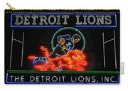 Detroit Lions Football Carry-all Pouch