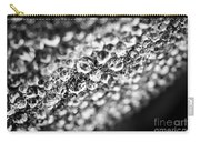 Dew Drops On Leaf Edge Carry-all Pouch