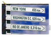 Direction Signs Carry-all Pouch