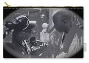 Director Martin Ritt And James Earl Jones 2 The Great White Hope Set Globe Arizona 1969-2013 Carry-all Pouch