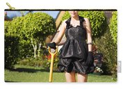 Do It Yourself Gardening Lady Carry-all Pouch