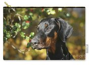 Dobermann Dog Carry-all Pouch