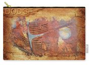 Dodge In Rust Carry-all Pouch