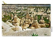 Dog Looking At Fairy Chimneys In Cappadocia-turkey Carry-all Pouch