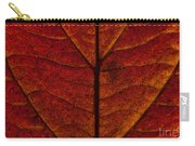 Dogwood Leaf Backlit Carry-all Pouch