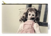 Doll With Tea Cup Carry-all Pouch