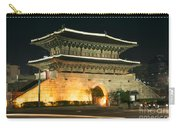 Dongdaemun Gate Landmark In Seoul South Korea Carry-all Pouch