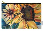 Dooley's Sunflowers Carry-all Pouch