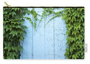 Door Framed By Plants Carry-all Pouch