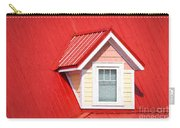 Dormer Window On Red Roof Carry-all Pouch