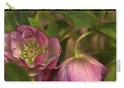 Double Lenten Rose Carry-all Pouch
