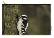 Downy Woodpecker Carry-all Pouch