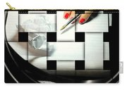 Draft Carry-all Pouch by Diana Angstadt