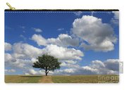 Dramatic Clouds And The Tree Carry-all Pouch
