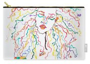 Dreadlocks Piano Goddess Carry-all Pouch by Stormm Bradshaw