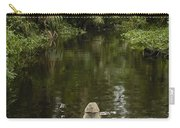 Dugout Canoe In Blackwater Stream Carry-all Pouch