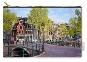 Dutch Canal Houses In Amsterdam Carry-all Pouch