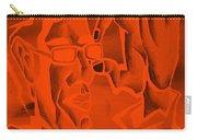 E Vincent Orange Carry-all Pouch