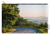 Early Morning Sunrise Over Blue Ridge Mountains Carry-all Pouch