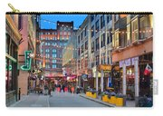 East Fourth Street In Cleveland Carry-all Pouch