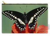 Eastern Black Swallowtail Butterfly Carry-all Pouch
