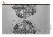 Edison's Phonograph Patent Carry-all Pouch