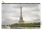 Eiffel Tower And The Seine Carry-all Pouch