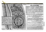 Electric Brush, 1882 Carry-all Pouch