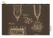 Electric Razor Patent 1940 Carry-all Pouch