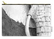 Elephant Study Carry-all Pouch
