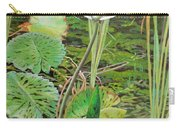 Emerald Lily Pond Carry-all Pouch