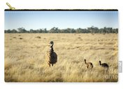 Emu Chicks Carry-all Pouch by Tim Hester