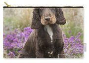 English Cocker Spaniel Puppy Carry-all Pouch