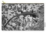 European Wall Lizard In Desenzano. Lago Di Garda Carry-all Pouch