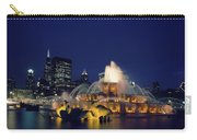 Evening At Buckingham Fountain - Chicago Carry-all Pouch