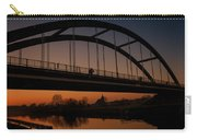 Evening Panoramic View On Pottes - Belgium Carry-all Pouch
