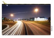 Evening Traffic On Highway Carry-all Pouch