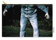 Evil Dead Horror Zombie Walking Undead In Cemetery Carry-all Pouch