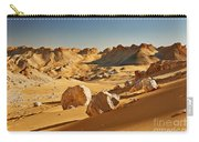 Expressive Landscape With Mountains In Egyptian Desert  Carry-all Pouch