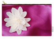 Fabric Flower Carry-all Pouch