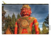 Faces Of Buddha Carry-all Pouch by Adrian Evans