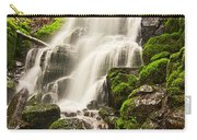 Fairy Falls In The Columbia River Gorge Area Of Oregon Carry-all Pouch